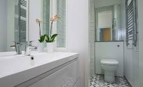 Stunning attic bathroom makeover ideas budget Tile Bathroom Downstairs Wc With Contemporary Sanitaryware Lindisfarneco How To Add Value To Your Home 20 Genius Tips Homebuilding