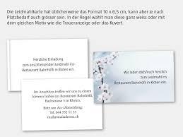 Trauerdrucksachen Trauerkarten Danksagungen Bestellen Mit