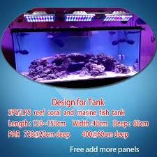150cm Aquarium Light Dsuny 3x Led Aquarium Light 360w Saltwater Lamp For Coral