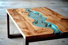 cool round wood and glass coffee table kitchen wood round coffee tables