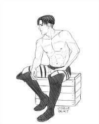 Addicted To Levimikasa Dinklebert There A Shirtless Levi