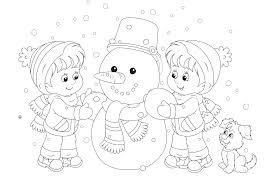 Iglo Huis Kleurplaat Kleurplaat Winter O A Sneeuw Schaatsen