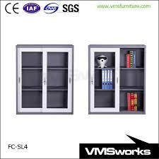 half height glass door small office storage cupboards