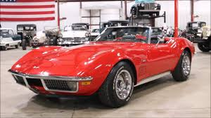 1970 Chevy Corvette Red - YouTube