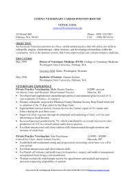 Vet Tech Resume Fresh Sample Cover Letter For Resume Veterinary
