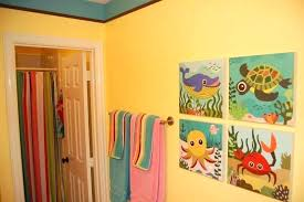 kids fish bathroom set colorful bathroom sets attractive kids bathroom sets ideas featuring fish wall art decor and colorful towel colorful bath rug sets