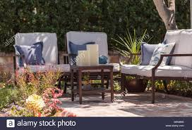 Irvine Ca Usa 19 August 2016 Patio Möbel Und Feng Shui Garten