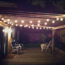 patio lights. Edison Patio String Lights The Ideas About Modern In Homemade