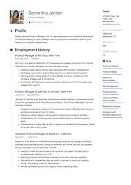 Product Management Resume Resume Product Manager Resumeviking 40