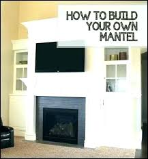 diy fireplace surround plans fireplace surround build a fireplace surround build fireplace diy fireplace mantels plans