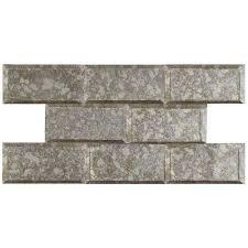subway glass tile per case of 8 tile