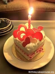 Birthday Cake Love With Candle Cake Beautiful Birthday Cakes
