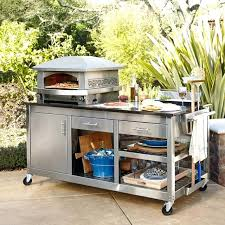 outdoor grill prep station artisan fire outdoor pizza oven pizza station with pizza tools outdoor grill prep station plans