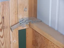 double sliding barn door lock