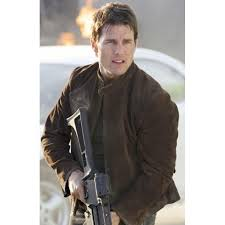 mission impossible 3 tom cruise suede leather jacket brown leather jacket