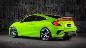 Honda Civic Light Green Leaked 2016 Honda Civic Sedan Engine And Transmission