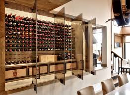 glass enclosed wine cellars  commercial wine displays – stact