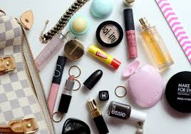 cosmetics bag photo befry what s in my beauty bag