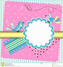 Freehday Invitation Card Template Word Blank Quarter Fold
