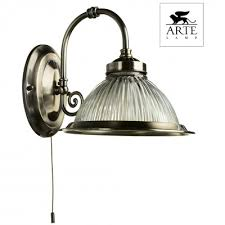 <b>Бра arte lamp american</b> diner a9366ap-1ab с бесплатной доставкой!