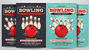 Bowling Event Flyer Template 24 Bowling Flyer Templates Vector Eps Psd