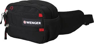 <b>Сумка</b> поясная Wenger Funny <b>Pack</b>, цвет: черный, красный ...