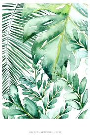 banana leaf wall art banana leaf wall art banana leaf decor palm leaf art print palm