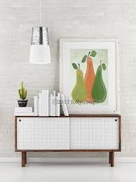 mid century modern pear art print retro pear poster kitchen wall art whimsical kitchen decor farm art print fruit art foly design on whimsical kitchen wall art with mid century modern pear art print retro pear poster kitchen wall