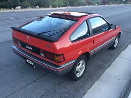 1985 Honda CRX Si - $4500 - Palm Springs, California - Japanese ...