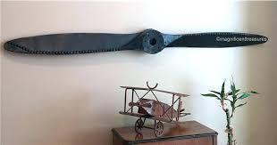rustic metal wall decor metal airplane wall decor industrial rustic metal airplane aircraft propeller plane aviation