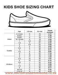 New Balance Childrens Size Chart New Balance Sizing Chart Shoes