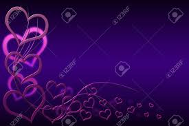 Purple Background Designs Valentines Day Background For Your Designs With Pink Hearts And