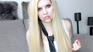 vire avril lavigne make up tutorial