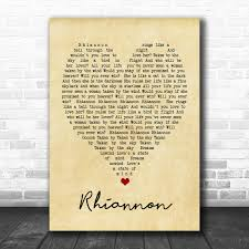 Rhiannon Fleetwood Mac Vintage Heart ...