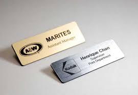 Custom Name Badges Variety Of Designs Materials