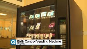 A Vending Machine Dispenses Coffee Into Unique College Dispenses Morningafter Pill In Vending Machine CBS News