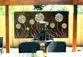large outdoor wall art metal decor uk amazing nautic