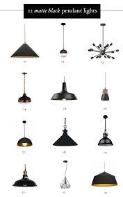 black pendant lighting. black pendant over kitchen table lighting u