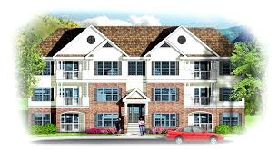 3 story tiny house. 3 Story Tiny House Unit Apartment Building Architectural Home