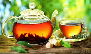 a glass teapot is made from heat resistant glass
