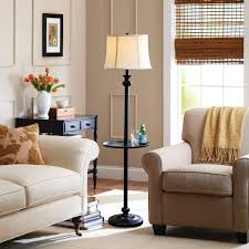 floor lamps with shelves style