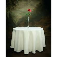 more views natural rustic burlap tablecloth in white 114 round