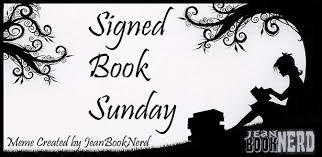 jbn signed book sunday