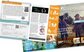 Magazine Newsletter Design Safft Donor Magazine Newsletter Design Merriam Creative
