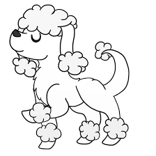 Small Picture Poodle Coloring Pages In glumme