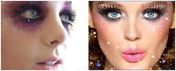 good and dark fairy makeup tutorial