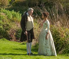 tom wilkinson stars as lord mansfield and gugu mbatha raw as dido elizabeth belle in