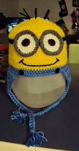 Minion Hat Crochet Pattern Amazing Ravelry Yellow Man Inspired By Dispicable Me Minion Pattern By