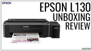 Epson L130 Unboxing And Setup Youtube Epson L130 Printer Price In Sri Lanka L