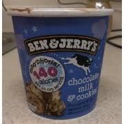 light ice cream chocolate milk and